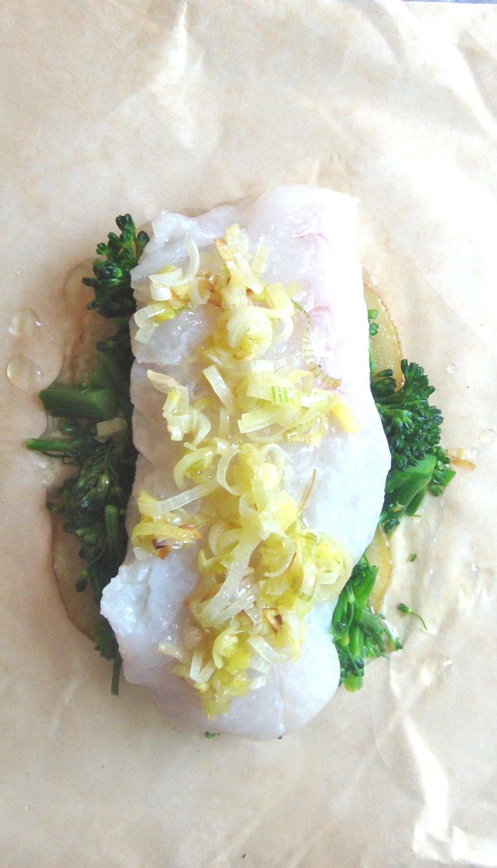 cod with leeks