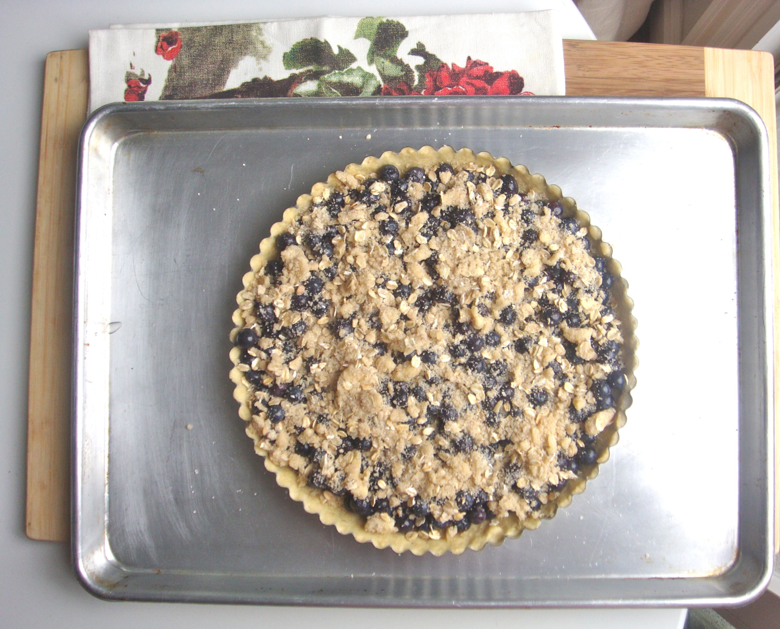 tart before oven
