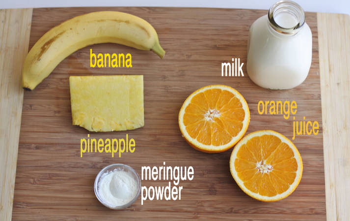 Orange-Pineapple-Banana Julius {re-eatables}