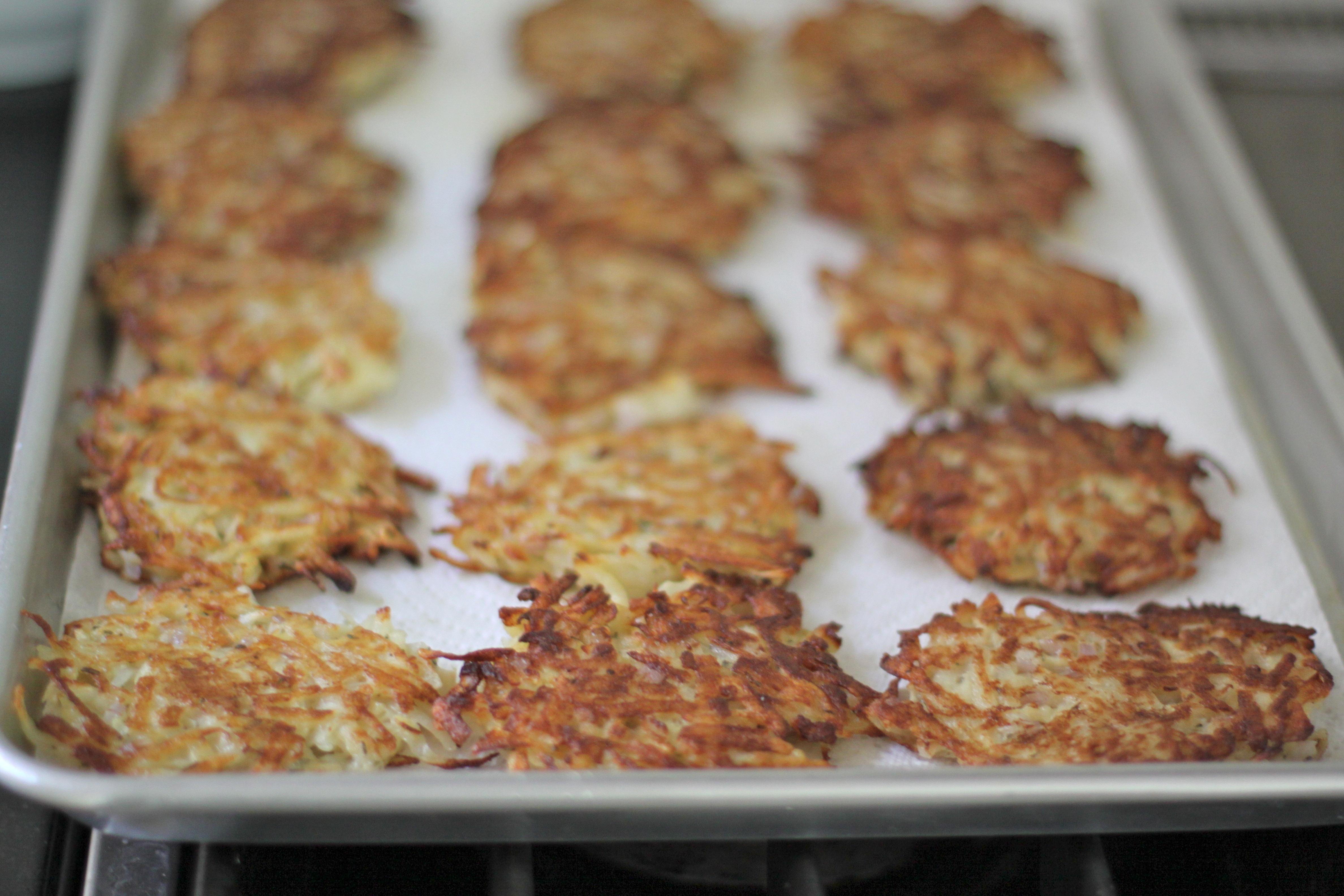 Apple-Rosemary Potato Cakes