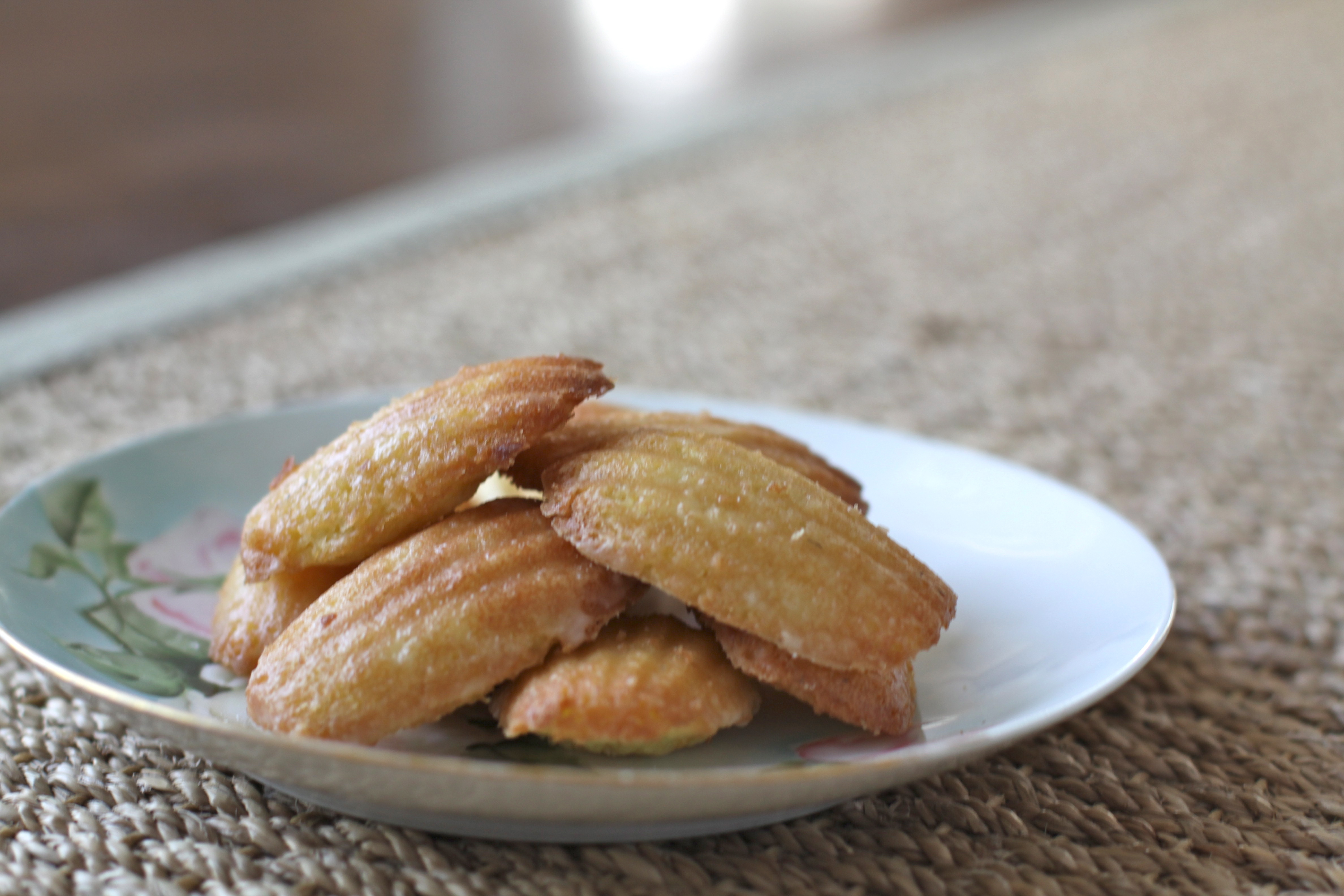 Glazed Madeleines Recipe — Dishmaps