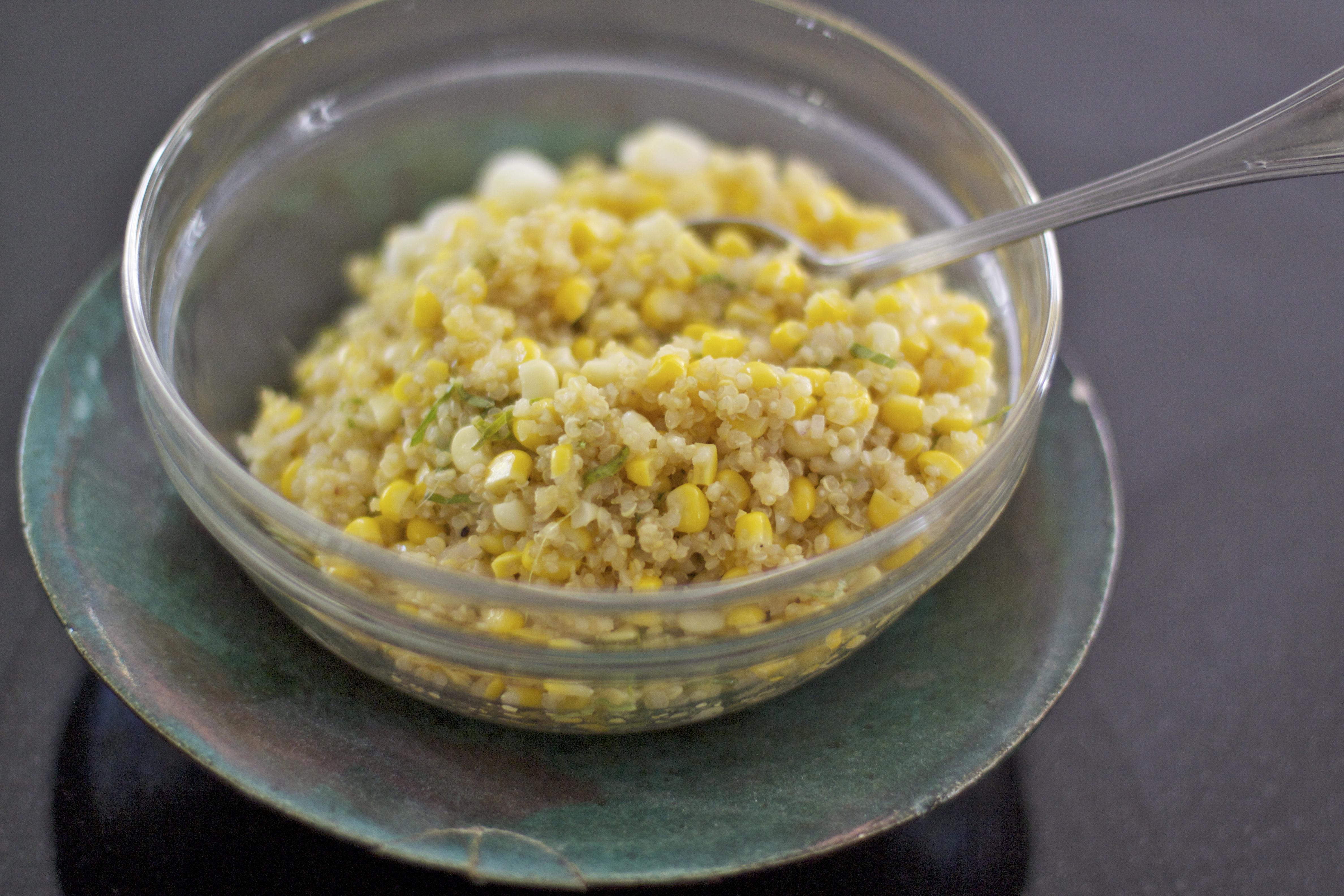 Corn Quinoa