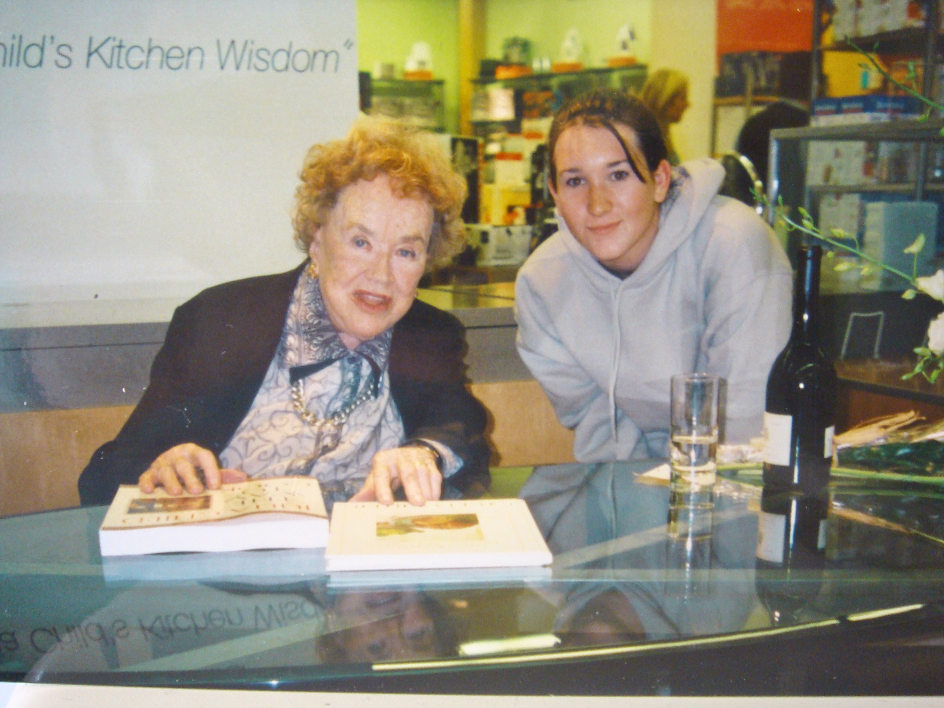 Julia Child & Jamie Levine