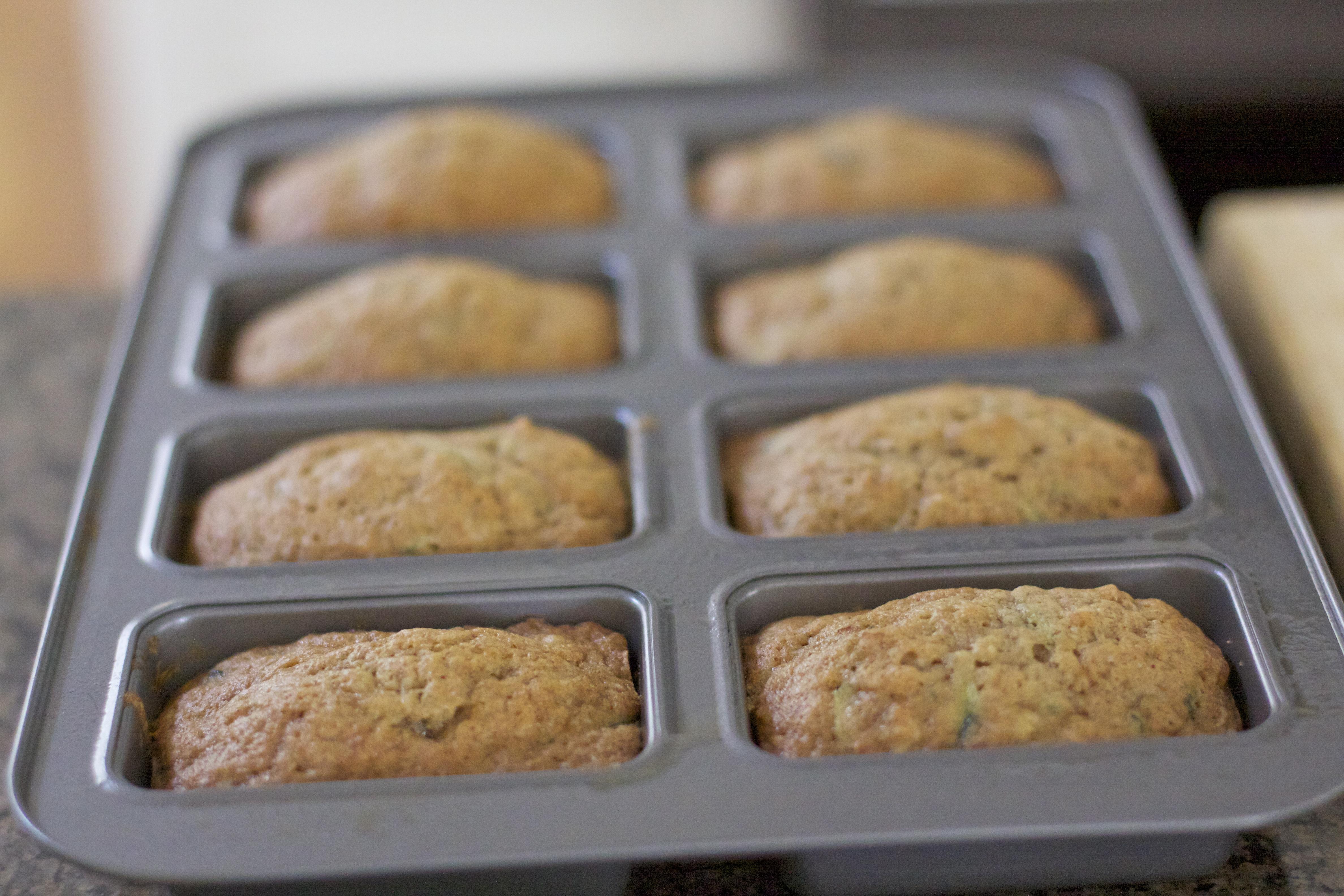 Santa Barbara Zucchini Bread