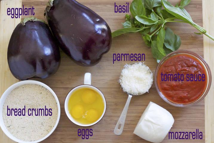 Easy Baked Eggplant Mozzarella