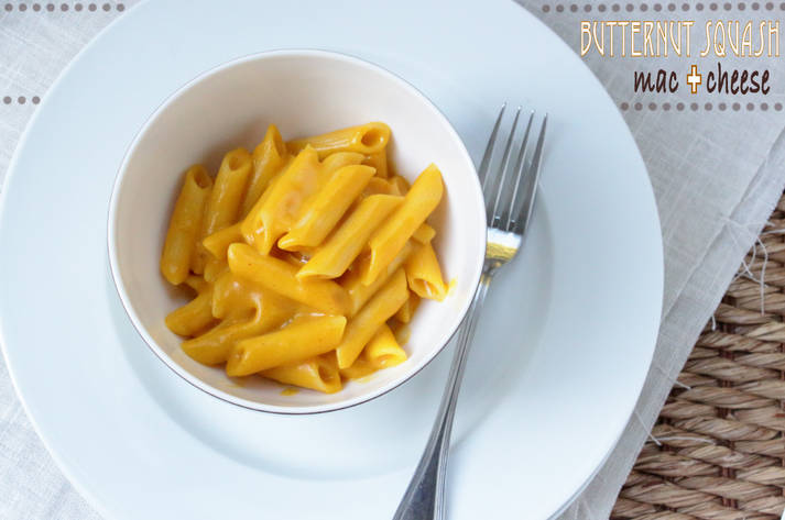 Gluten-Free Butternut Squash Mac & Cheese