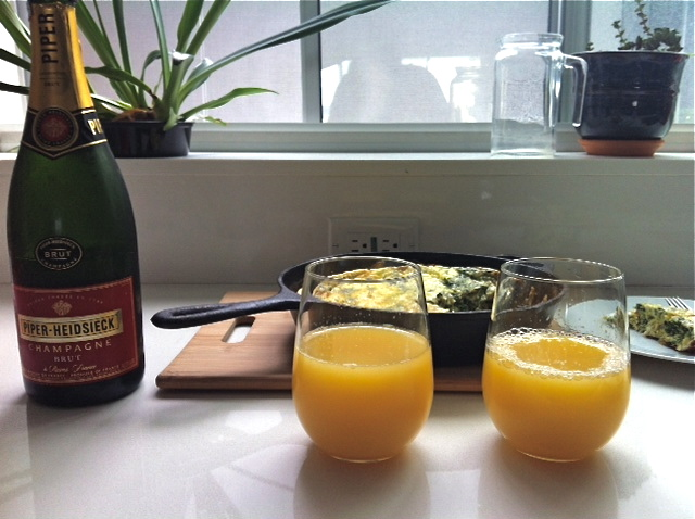 frittata-florentine-with-mimosas