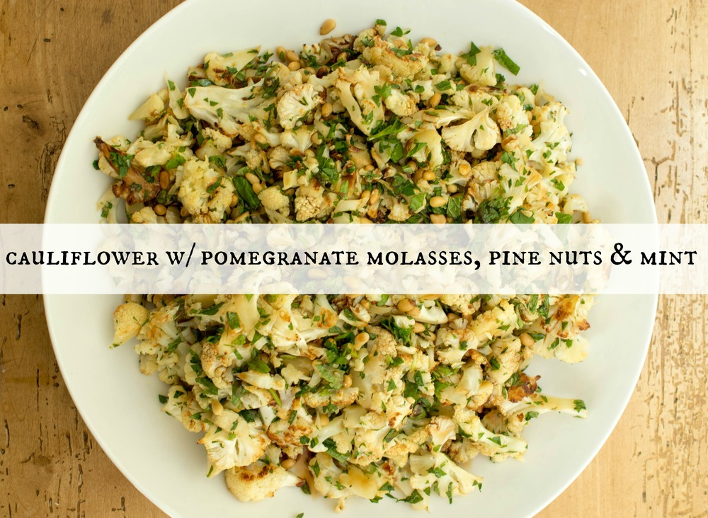 cauliflower-with-pomegranate-molasses