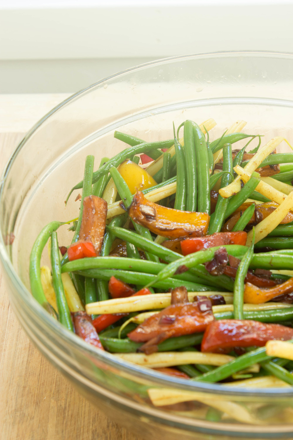 haricots-verts-w-balsamic-peppers-onion-7