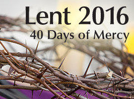 Click Here for Information about Lent from United Conference of Catholic Bishops!