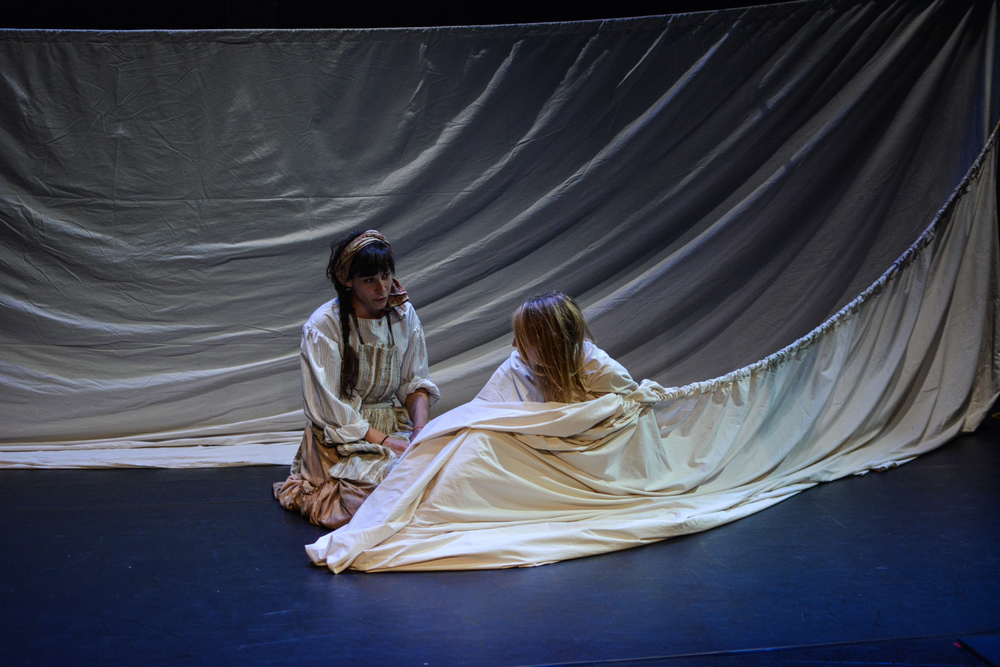 Kristina as Euphrasie with Alex Spieth as Senza in  Marvellous . Photo by Kelley Van Dilla.