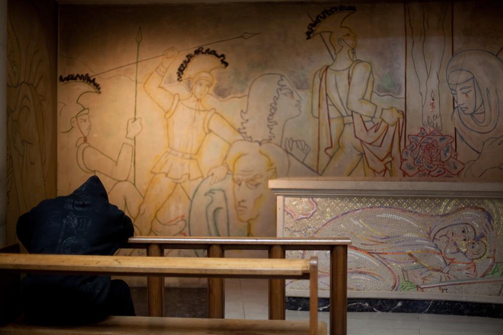 Cocteau Nave, Notre Dame des France, Leicester Square