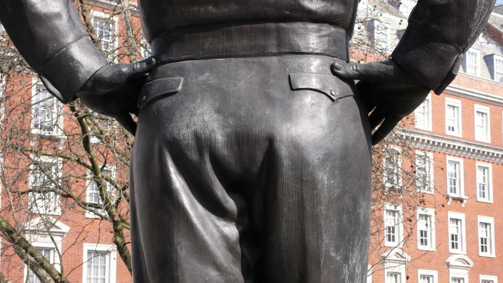 London (Dwight Eisenhower's Butt)