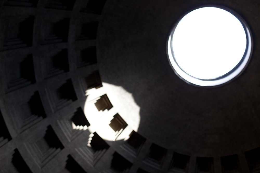 Pacman invades the Pantheon, Rome 2018