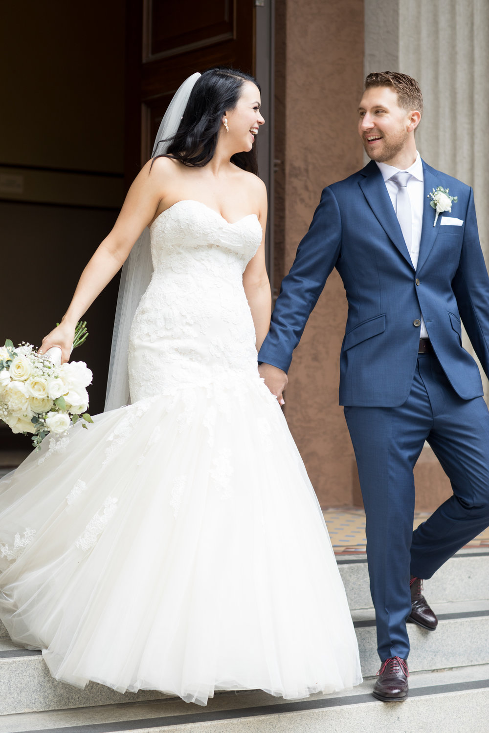"After a Bride and Groom Said, ""I do"" Best Wedding Photographers Northern California"