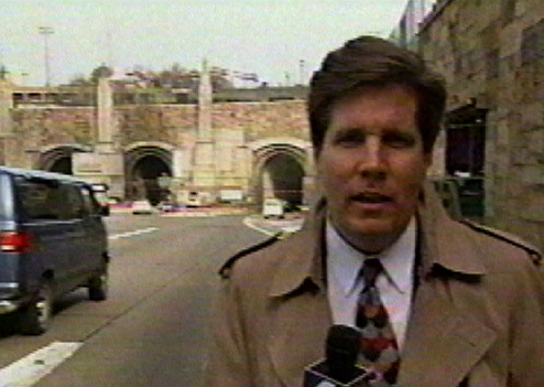 Reporting on the Lincoln Tunnel, 1995.