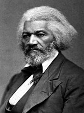 Frederick Douglass, former slave turned abolitionist and master orator, circa 1874.