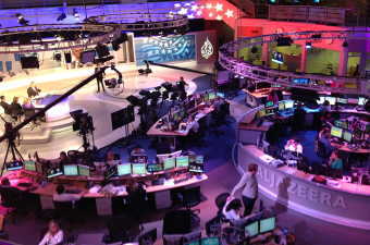 Al Jazeera, the Qatar based cable news network, is launching a US based channel featuring award winning journalists and a commitment to quality reporting.  Photo courtesy Al Jazeera.
