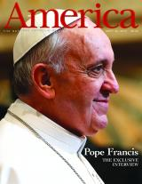 Pope Francis's interview was published in America, the magazine of the Jesuit order in the United States.