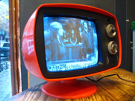 Back to the future?  A proposed FCC rule change could level the playing field for TV in a way not seen since this Philco model was introduced in the 1970's.