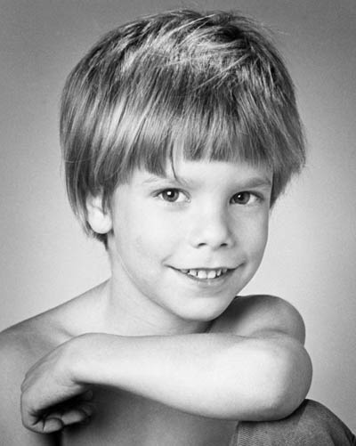 Etan Patz as photographed in 1978, from a Wikipedia page on his disappearance.