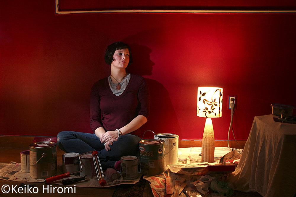 Erin Duram in Boston, Massachusetts.