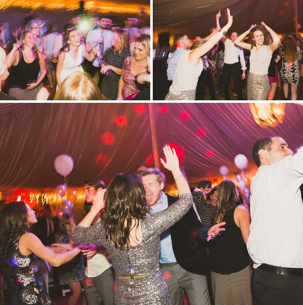 new year's eve themed reception