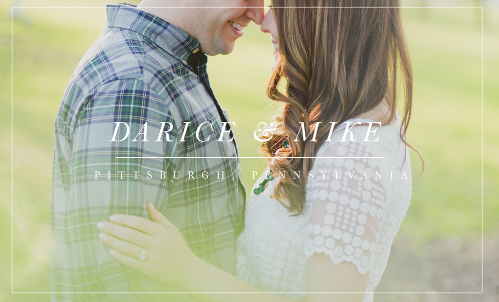 Classy Springtime Pittsburgh Engagement | www.blissfullyilluminated.com