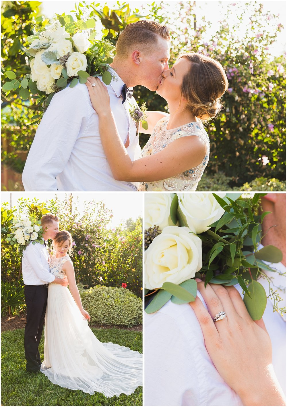 orange county wedding photographer__0025 romantic natural light couple portraits bride and groom kissing.jpg