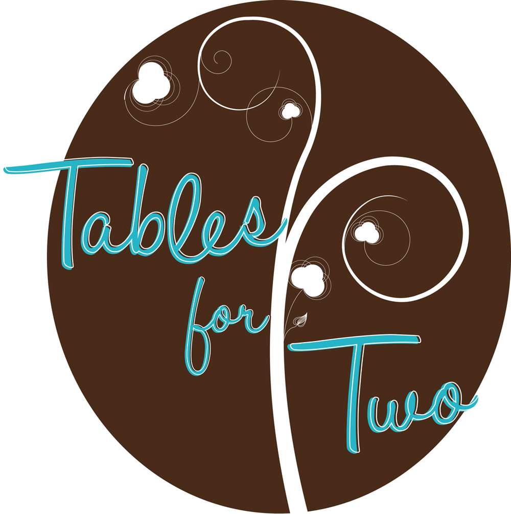 """Tables for Two"" design by Laurenn McCubbin"