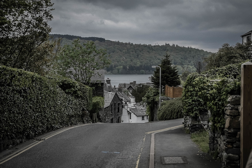 A view of Bowness-On-Windermere, not far from the Dome House.