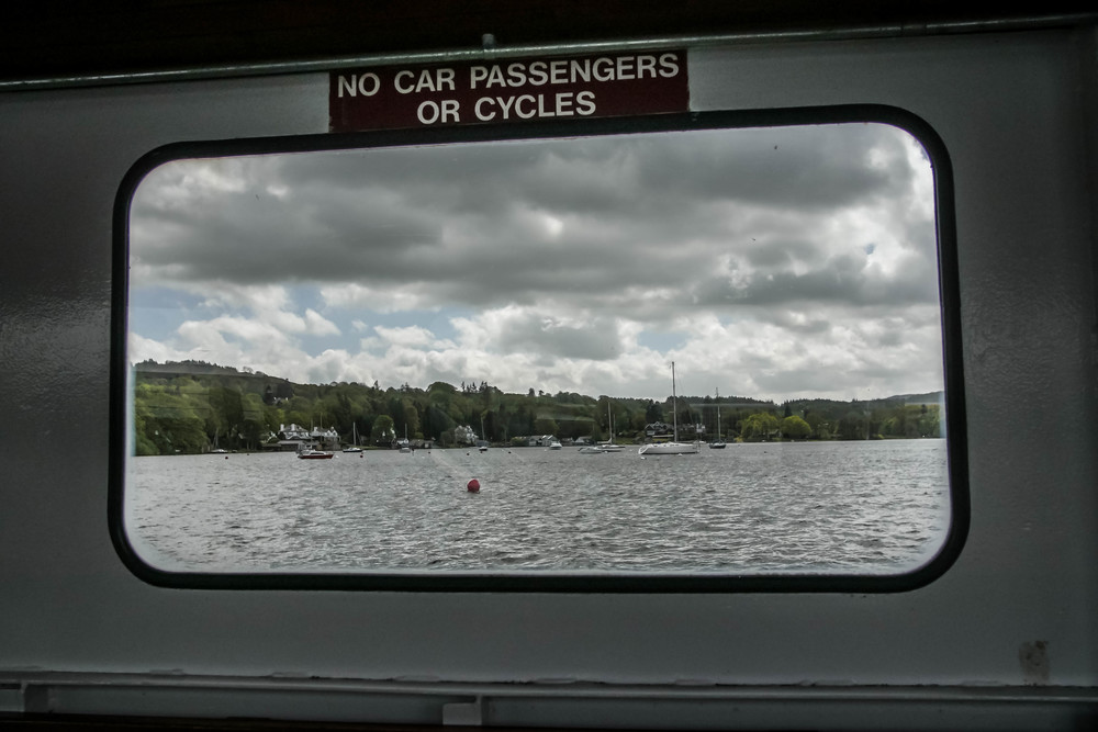Our ferry to the other side of Lake Windermere