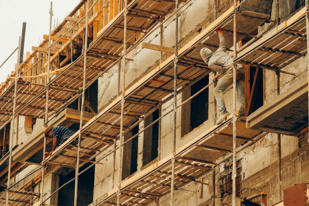 Hot scaffolding