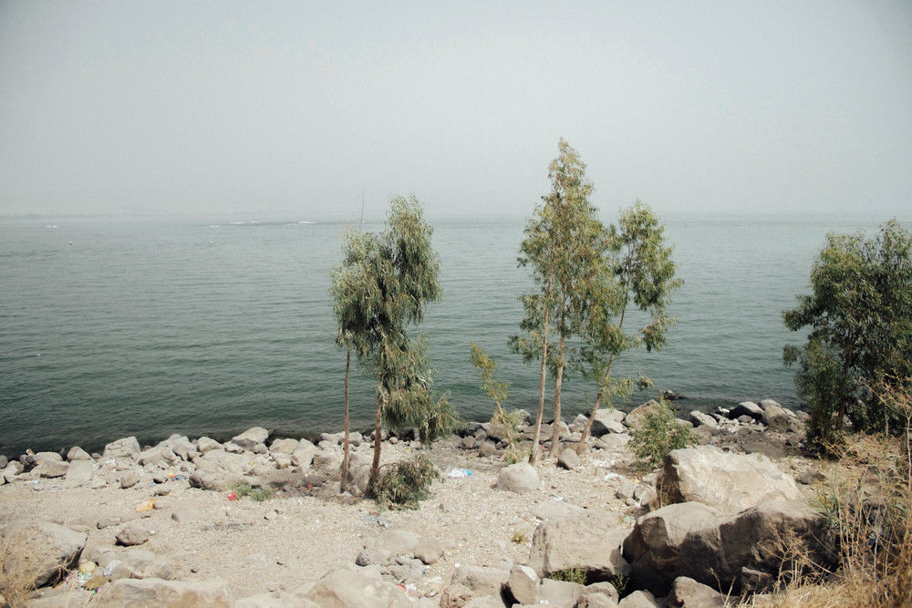 Lake Tiberias (or Sea of Galilee)