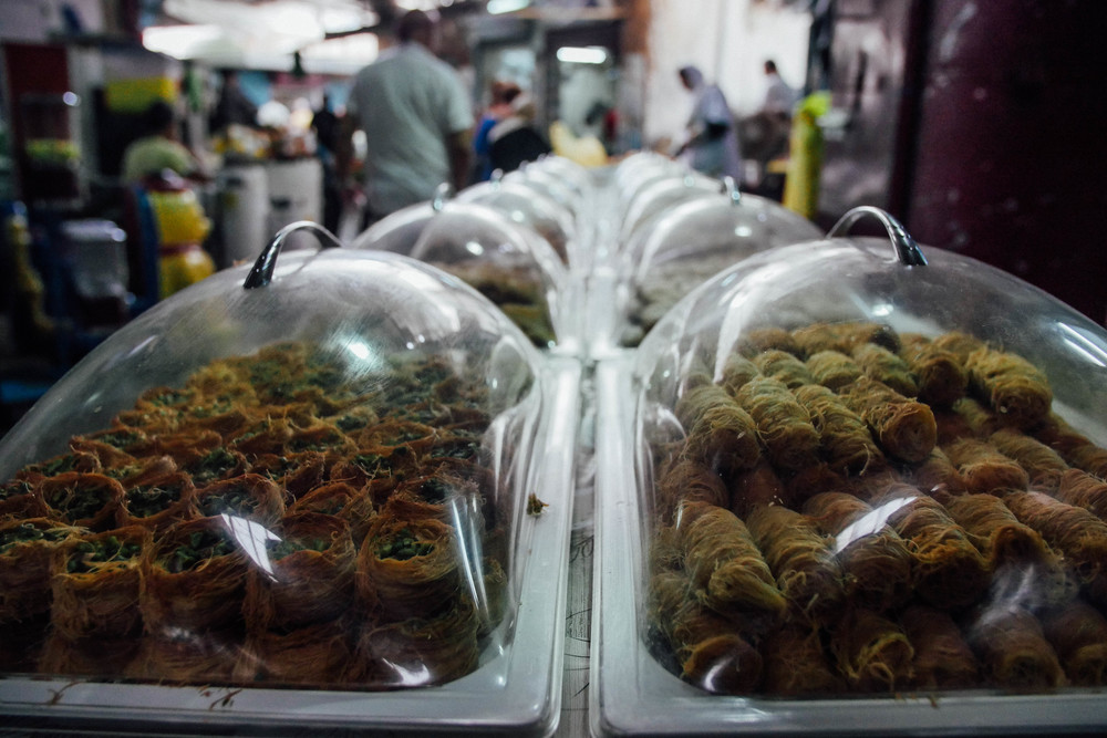 Baklavas and other Arab delicacies