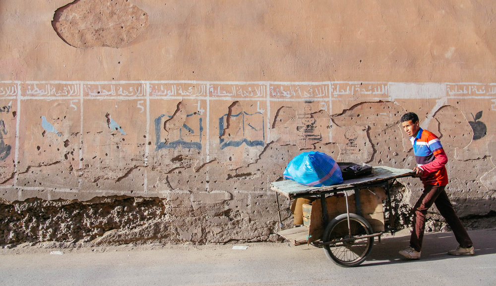 Marrakesh is a temple of street photography - unfortunately the locals have realised its value. Step up your stealth skills!