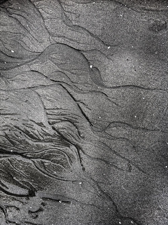Water Veins & Sand