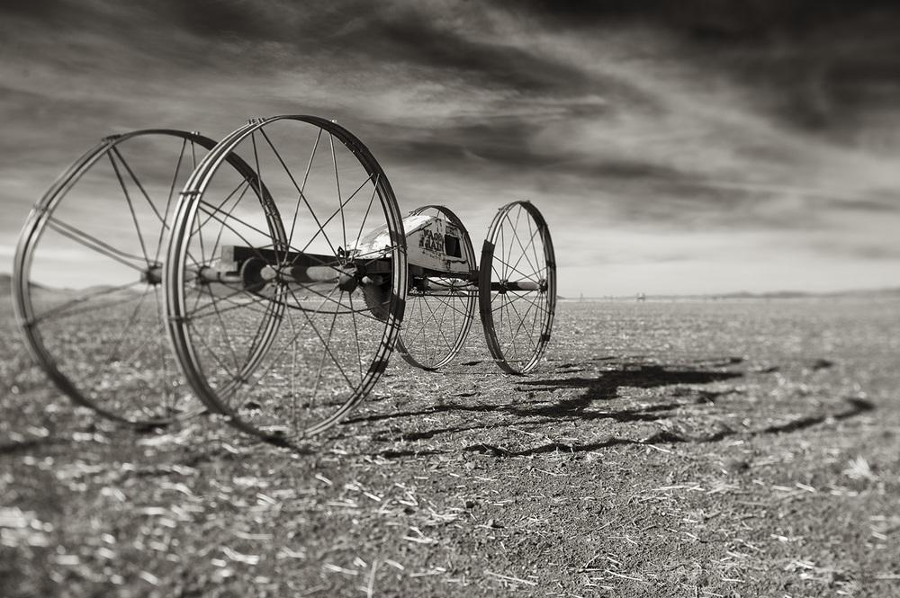 Wheel Line Motor Section. Gannett, Idaho