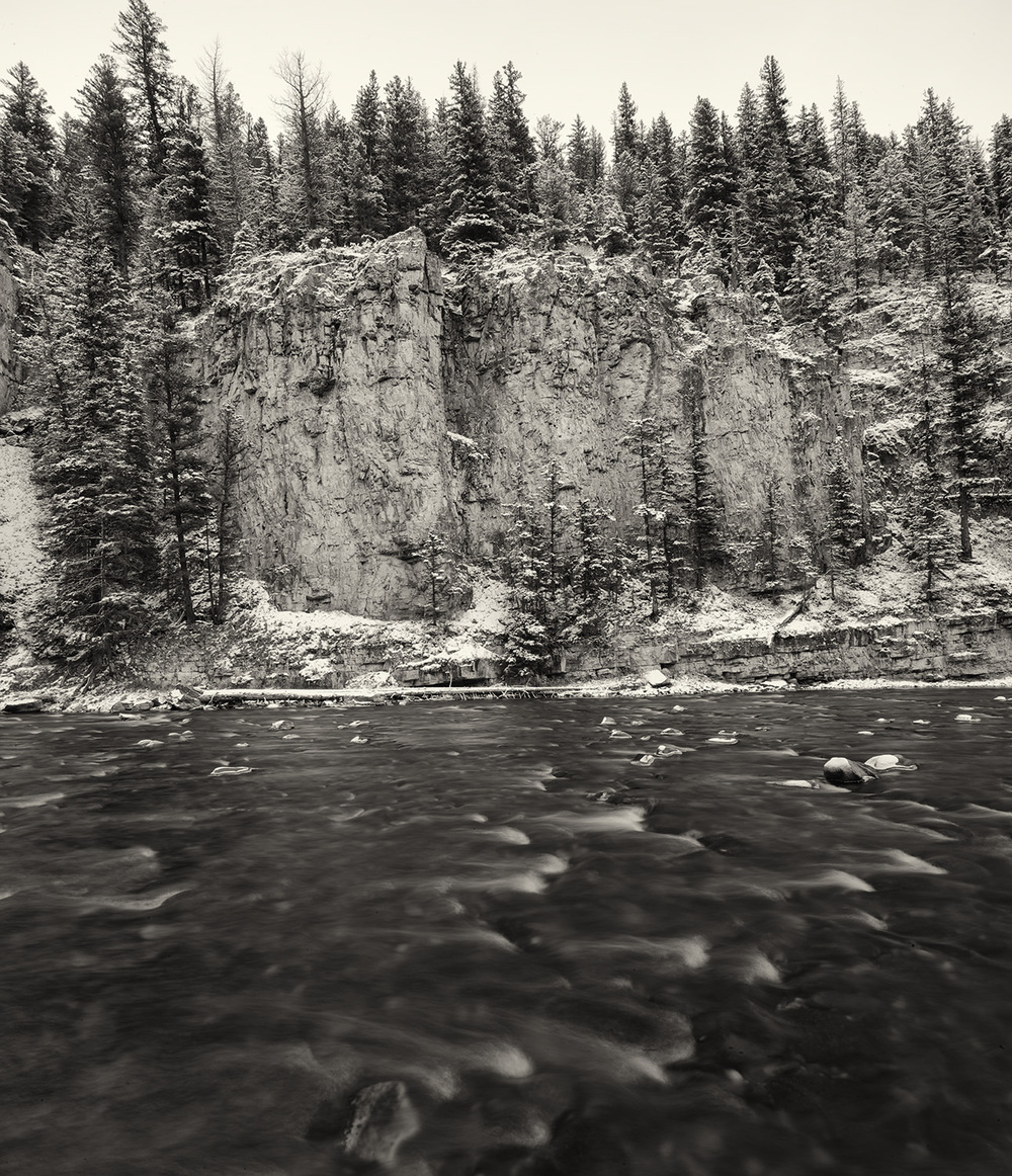 Early Winter.  Gallatin River, Montana