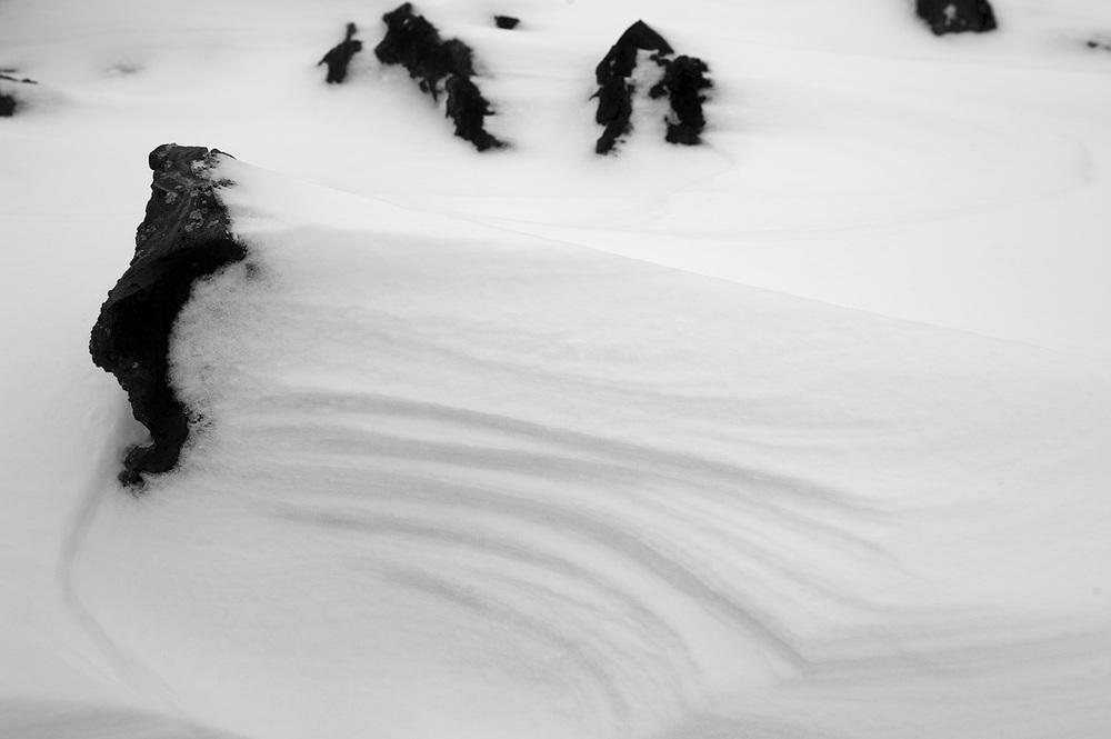 Craters Snowscape