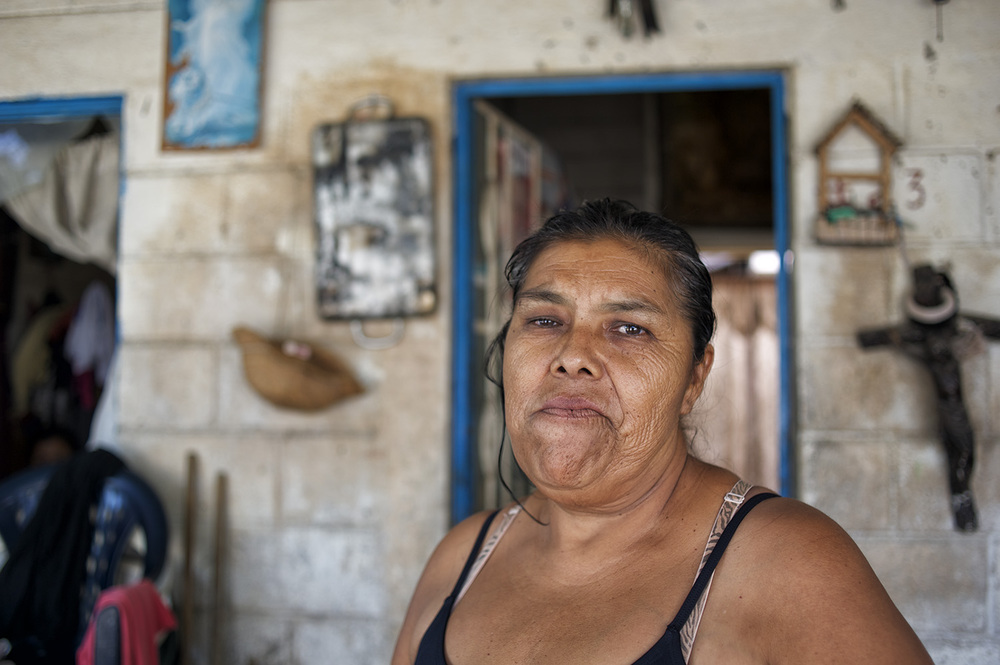 A portrait of a woman in Punta Mita I