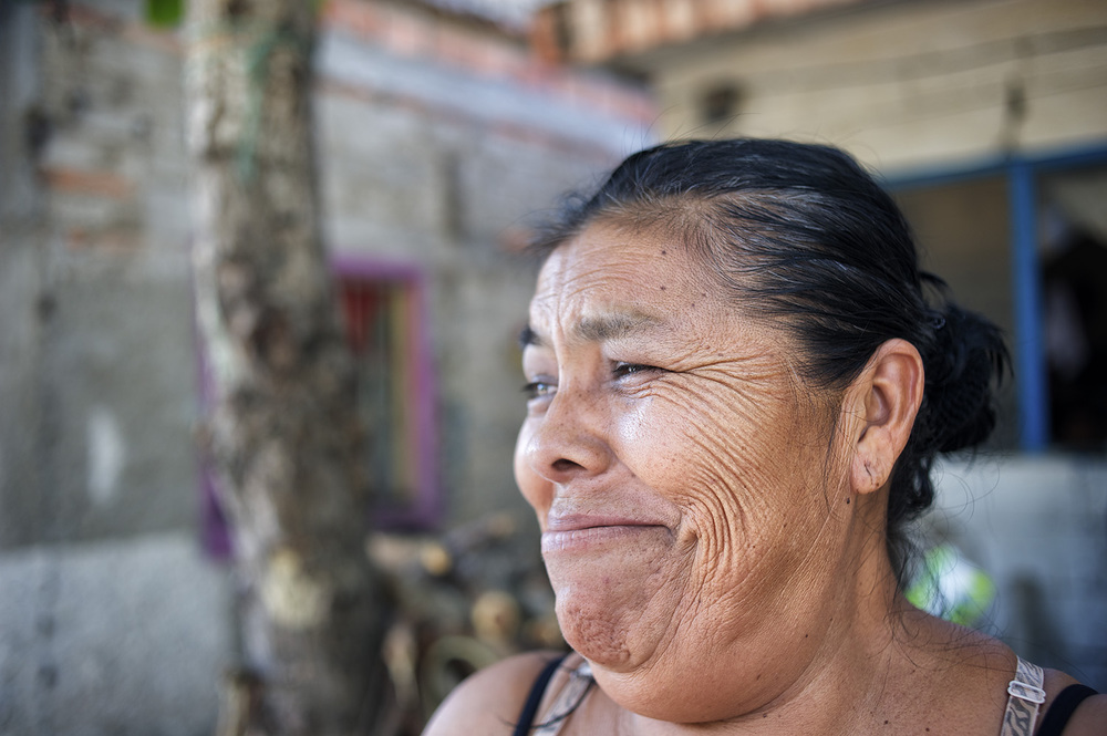 A portrait of a woman in Punta Mita II