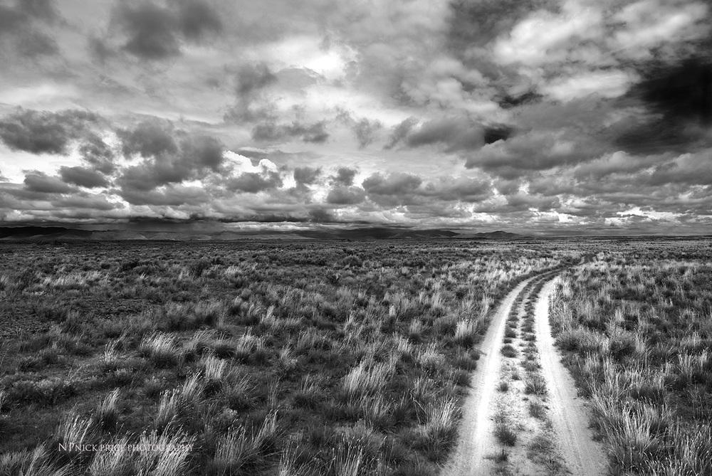 Idaho Desert Road