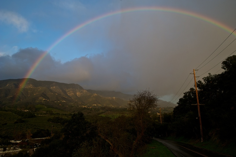 Rainbow. Santa Barbara, California