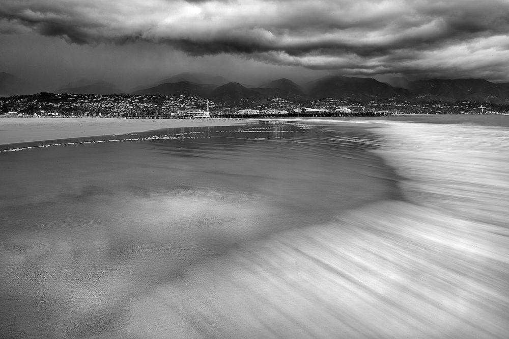 Storm Clouds & Santa Barbara