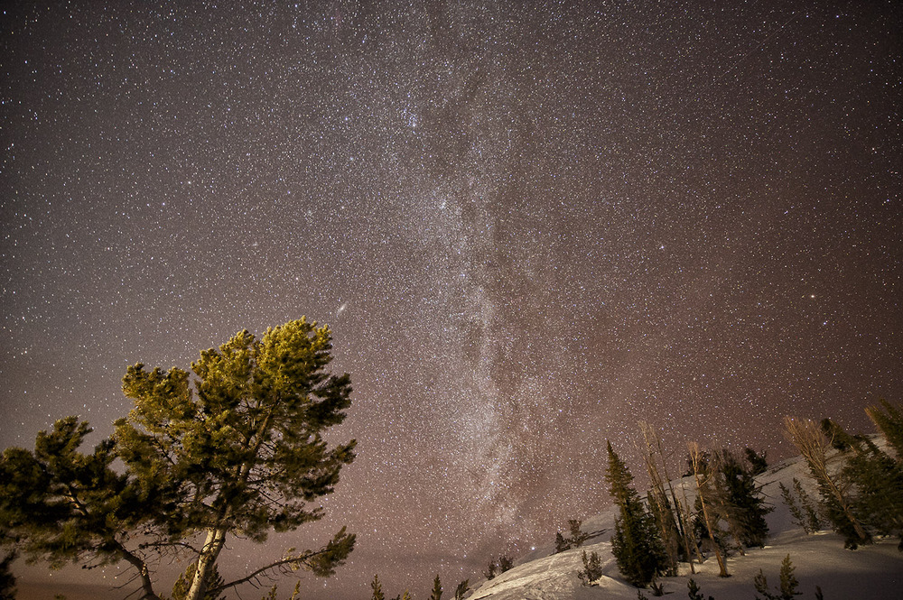 Milky Way From Galena Summit, Idaho.