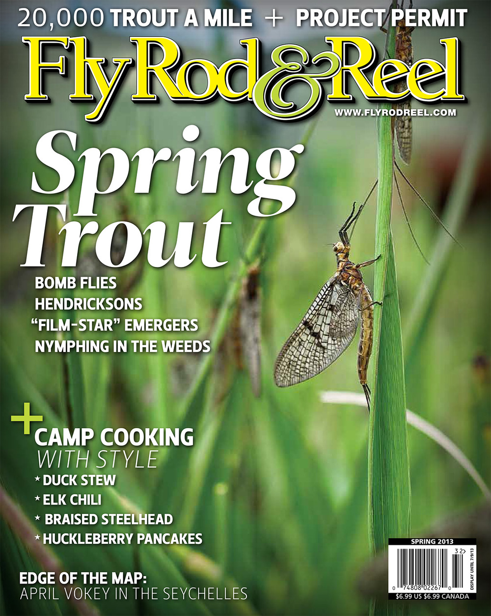 Cover. Spring 2013 Fly Rod And Reel