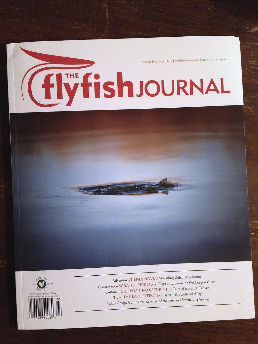 The FlyFish Journal Issue 4.3. Cover