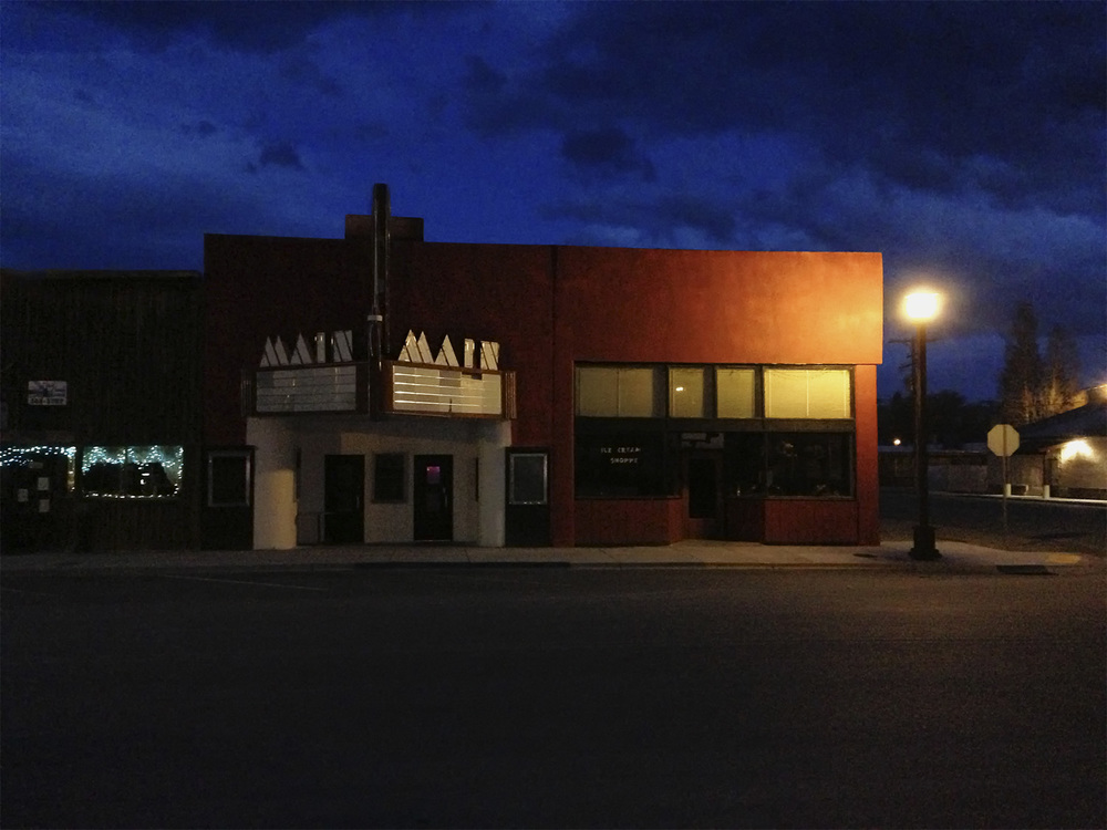 Main St. Theater. Mackay, Idaho