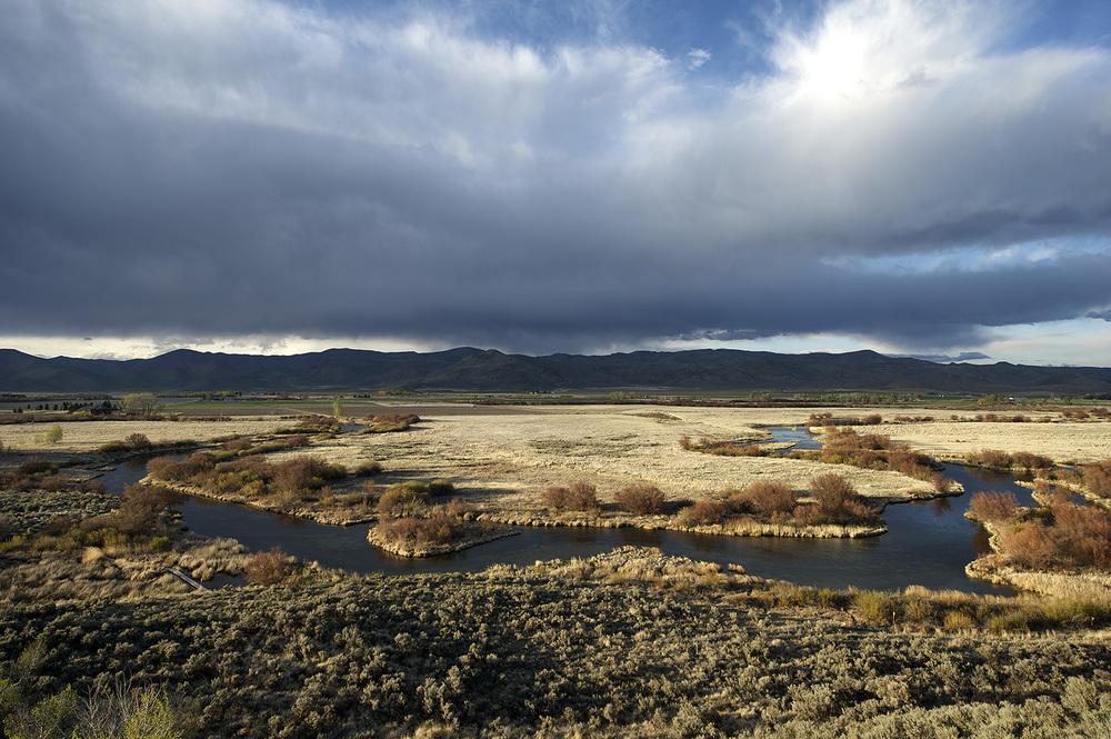 Silver Creek Preserve Oxbow. Spring